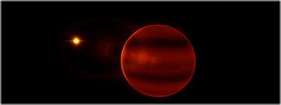 estrela anã marrom errante - jupiter gigante