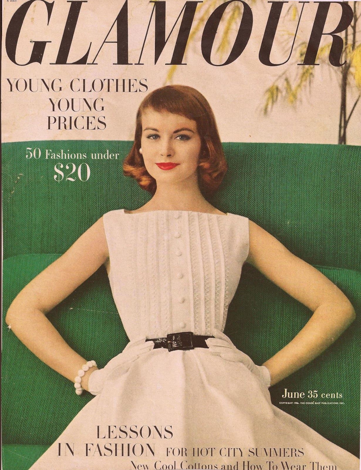 Fashion Magazine Brand Clothing: Retrospace: The Elegance Of The 50s Through Magazine Covers