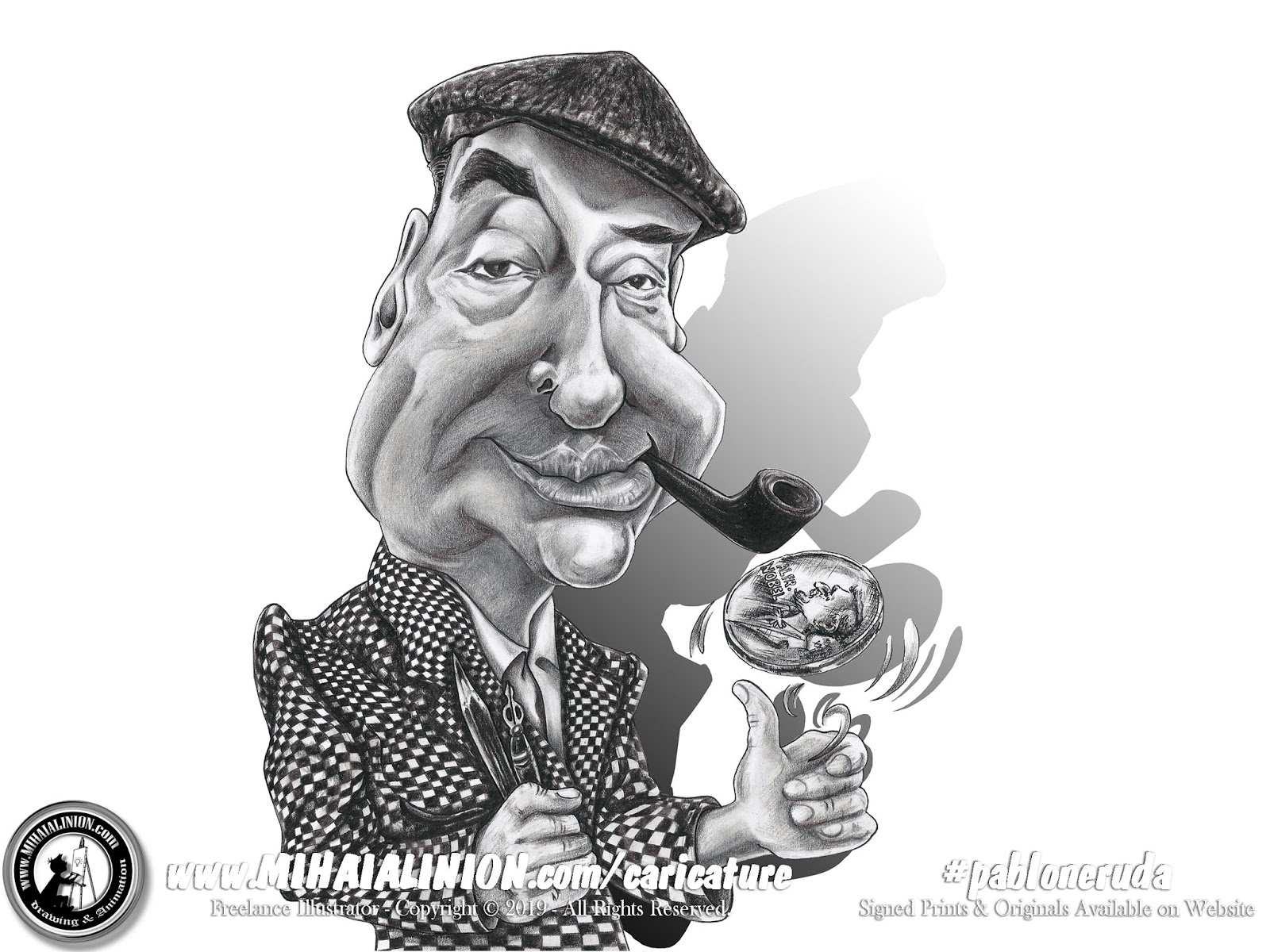 Drawing Pablo Neruda, promarkers, caricature Illustration, drawing caricature, pencil drawing, how to draw caricature, art illustrated, mihai alin ion comics, matei alexandru ion, Drawing with Matei, Matei Draws, creioane colorate, writter, l writter pablo neruda, literature caricature, pablo neruda caricature, illustrations by mihai alin ion, painting, Nobel caricature, MAI Comics, Mihai Alin Ion, art by mihai alin ion, how to draw, artselfie, drawing ideas, free drawing lessons, drawing tutorial, art, dessin, disegno, dibujo, drawing for kids, drawing, illustration, painting, design, realistic 3d art, coloured pencils, www.mihaialinion.com, 2019, pencil drawing, tempera, acrilics paint, marker, gouache painting, mixed media, comics, comic book, caricature, portrait, cum sa desenezi, caricaturi mihai alin ion, caricaturi si portrete  la comanda, eveniment caricaturi, caricaturi la nunta, caricaturi la botez, caricaturi la majorat, desene pe pereti, desene pentru copii, ilustratie carte, benzi desenate, caricaturi, portrete, comanda caricaturi