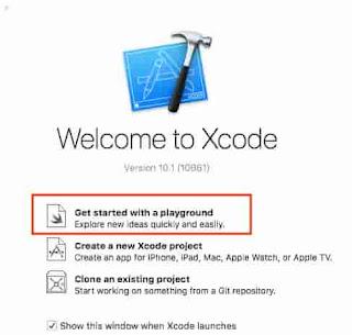 Xcode tutorial playground
