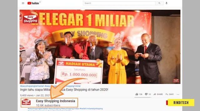 Dapat Surat Dari Easy Shopping hadiah 1 Miliar ? Mari Cek Kebenarannya