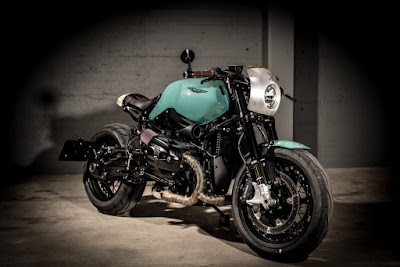 "BMW R NineT Custom ""DBR9T"" by  VTR Customs"