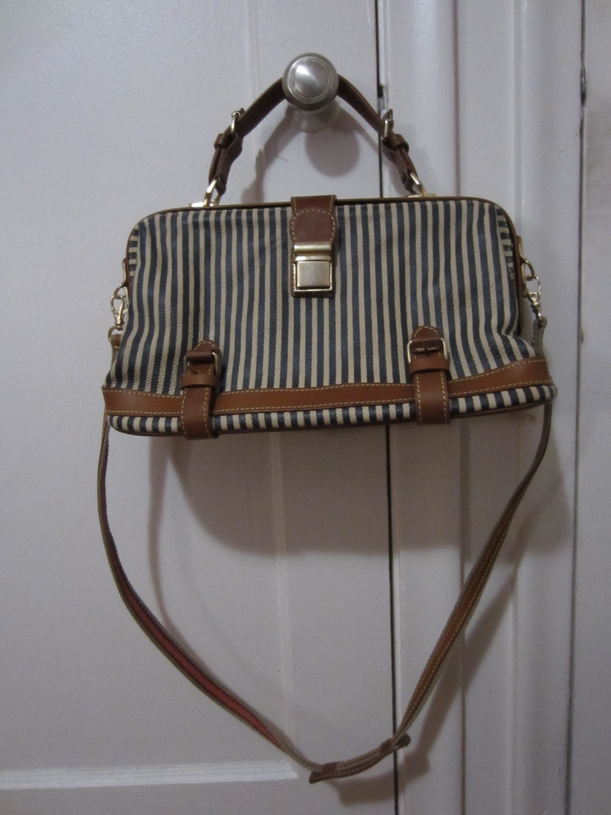 7a06b808488b *SOLD* NWOT Anthropologie Fine Ruled Satchel by Holding Horses **SOLD**