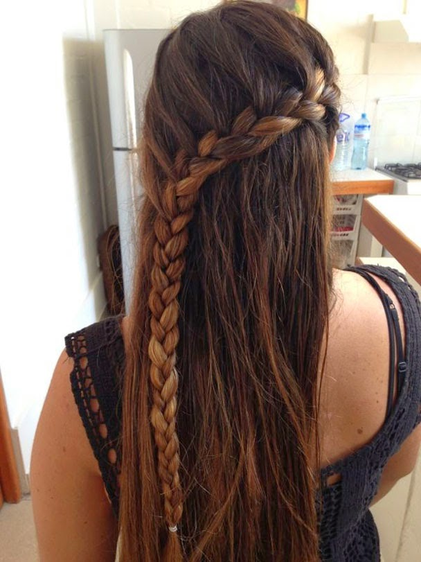 Peinado Para Ninas Peinados Para Ninas Con Trenzas Peinados Con - Trenzas-faciles-para-nia