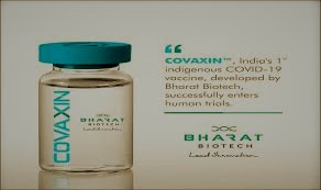 COVAXIN Indias first covid 19 vaccine