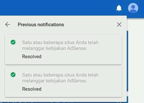 Penyebab Utama Akun Google Adsense Dibanned