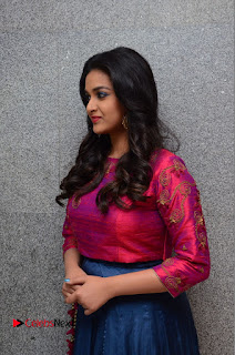 Actress Keerthi Suresh Stills at Remo Success Meet  0061.JPG