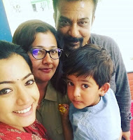 Rashmika Mandanna Family Photo