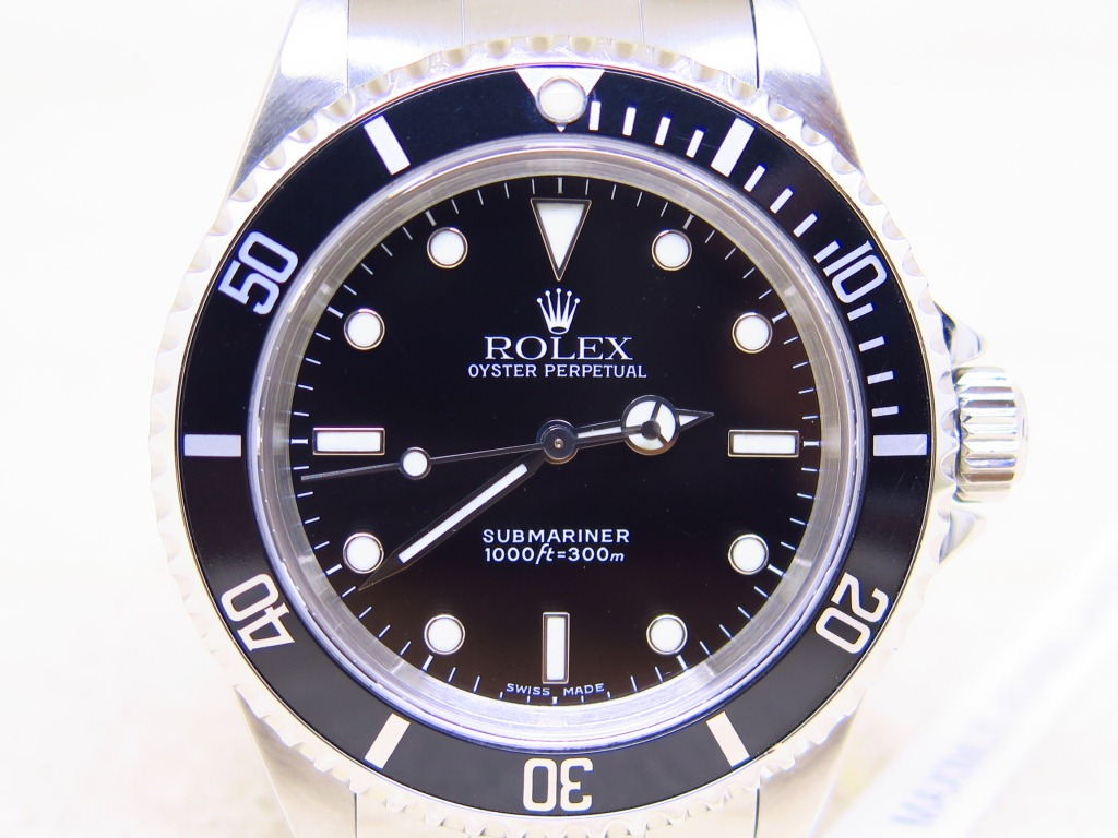 ROLEX SUBMARINER NODATE TWO LINERS - ROLEX 14060 TWO LINERS - SERIE P 2001