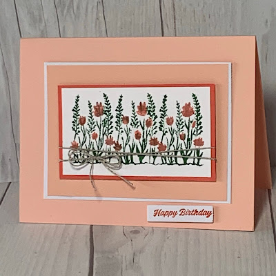 Birthday Card using Here's To You March 2021 Paper Pumpkin Kit