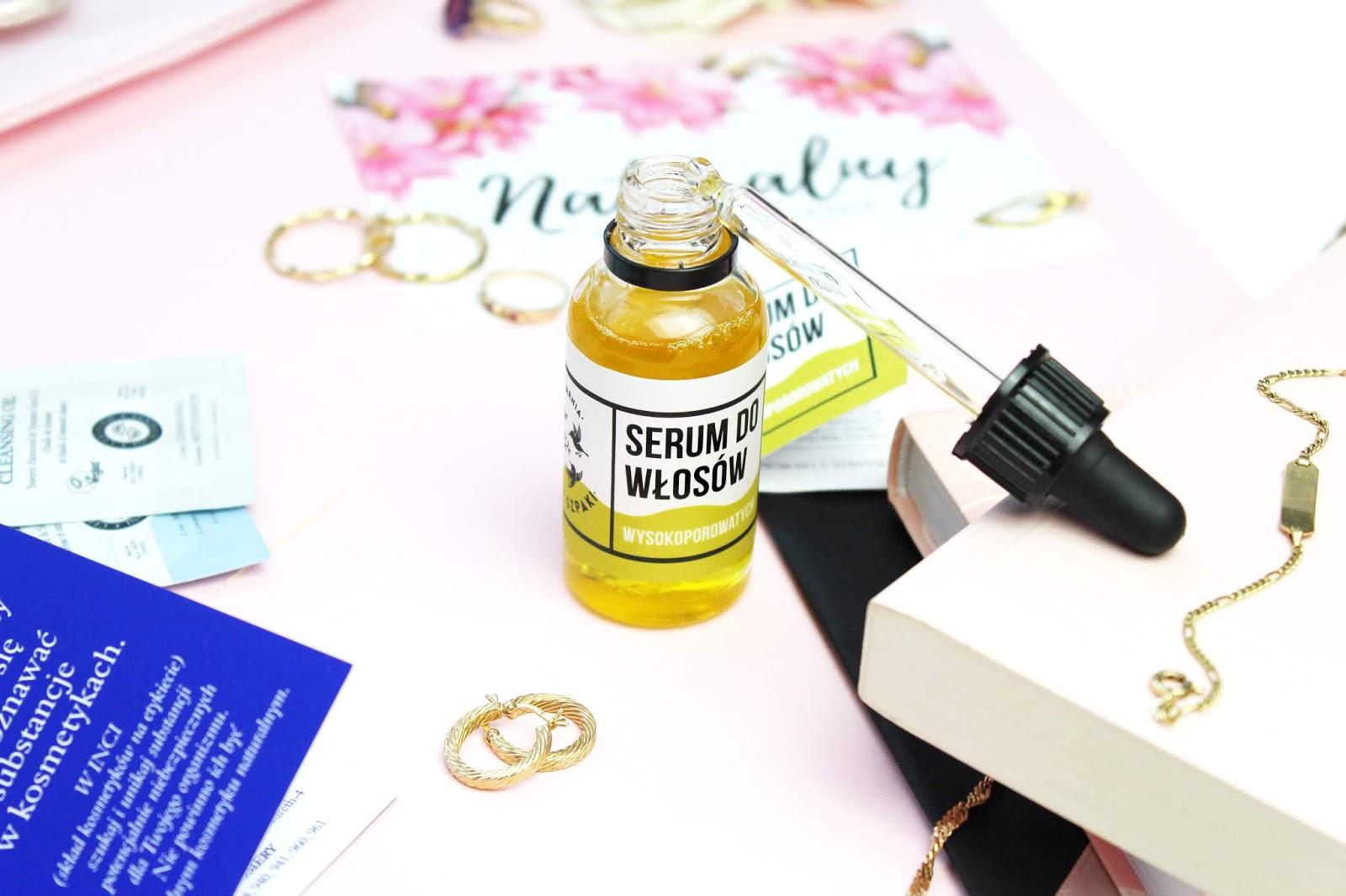 Mydlarnia Cztery Szpaki Serum dla włosów wysokoporowatych, 4 Szpaki Olejowe serum dla włosów wysokoporowatych