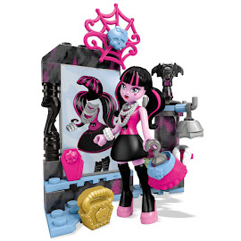 MH Booo-tique Shopping Draculaura Mega Blocks Figure