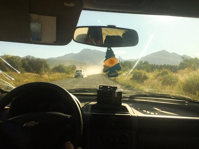 De la Trevelin spre Frontera, Chubut, Argentina