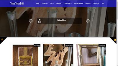 Website Toko Oleholeh - sukasukabali.com