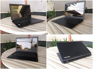 laptop bekas toshiba c55d-b amd e1
