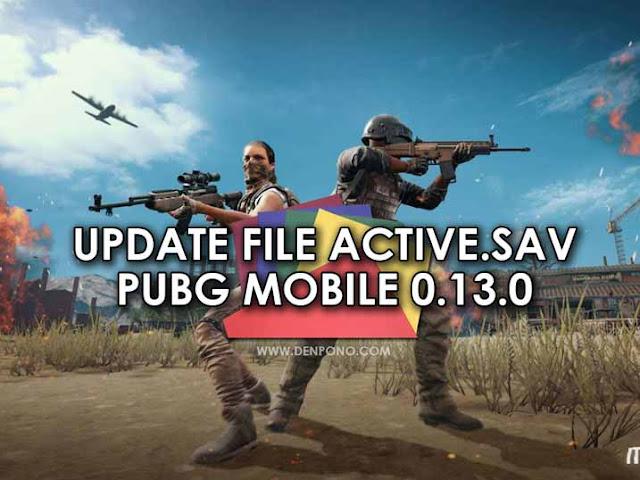 Pada versi terbarunya game PUBG Mobile ternyata file Active [UPDATE] Download File Active.sav Voice Chat PUBG Mobile 0.13.0