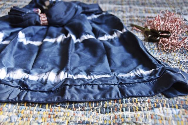 DIY | Shibori  Bettwäsche selber färben | luziapimpinella.com