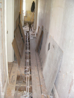 domestic building project house rewire