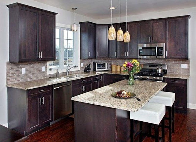 Kitchen Ideas With Dark Cabinets Dream House