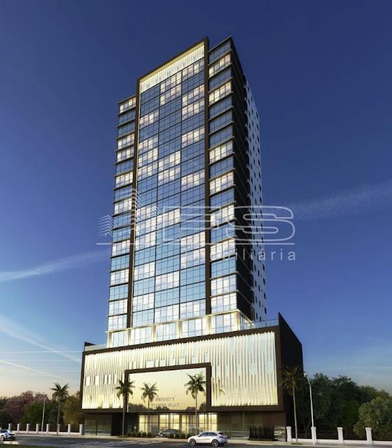 ENC: V1627 - Infinity Tower Flat - Meia Praia - Itapema/SC