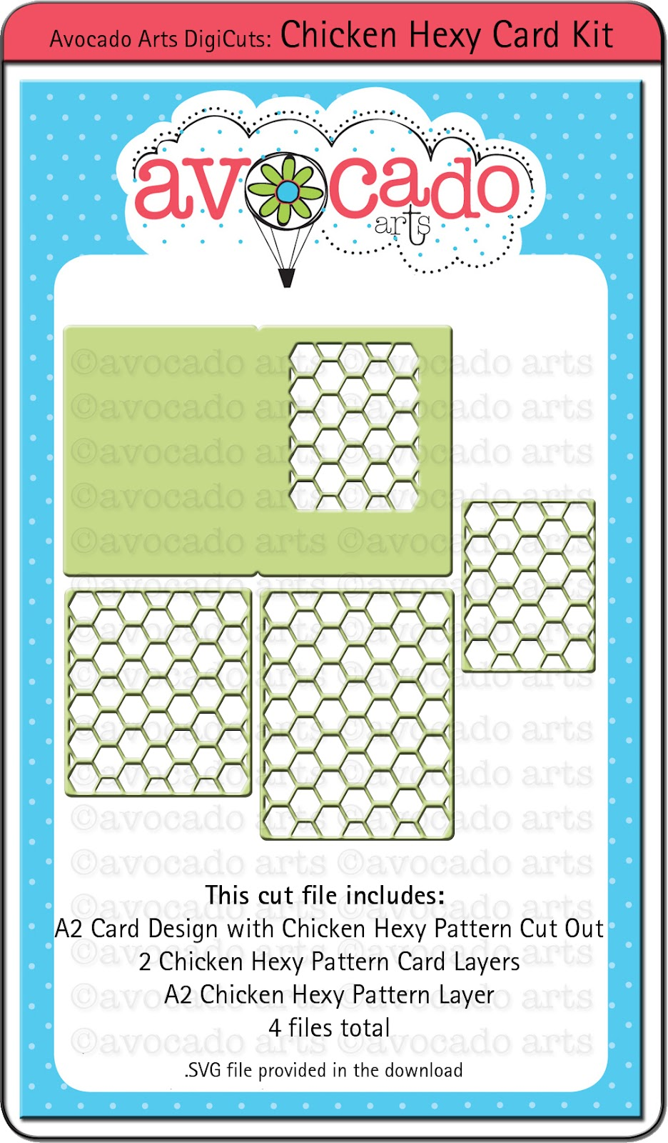 File Check Out Card avocado arts: brand new products for you! check it out!