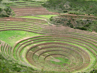 Terraços de Moray, em Cusco, Peru