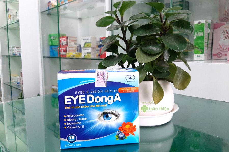 Eye DongA, hạn chế sự lão hóa của mắt