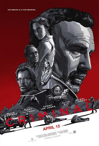 Criminal (BRRip 720p Dual Latino / Ingles) (2016)