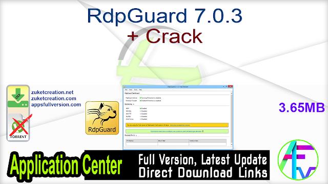 RdpGuard 7.0.3 + Crack