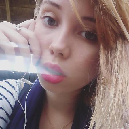 Bruna Borges transmitiu a própria morte no Instagram Foto: Reprodução/Facebook