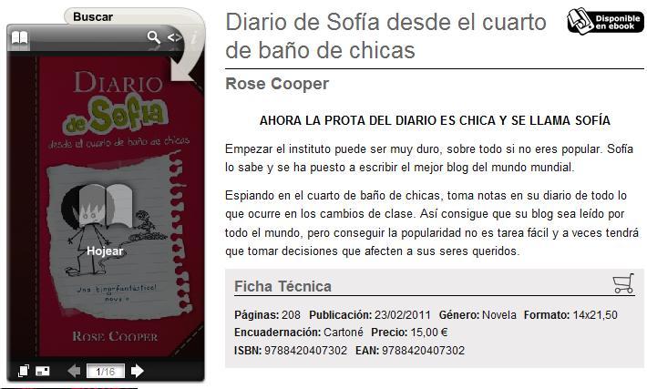El Diario de Sofía desde el cuarto de baño de chicas ...
