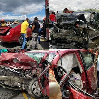 Muere un hombre nativo del municipio de Enriquillo Barahona  y varios heridos en accidente de tránsito
