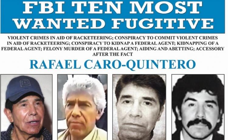 """El rastro de """"El Chapo"""" y Rafael Caro Quintero se vuelve a involucrar, Creen que Caro Quintero se esconde en Costa Rica"""