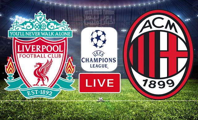 Match En Direct : Liverpool vs Milan AC en UEFA Ligue des Champions