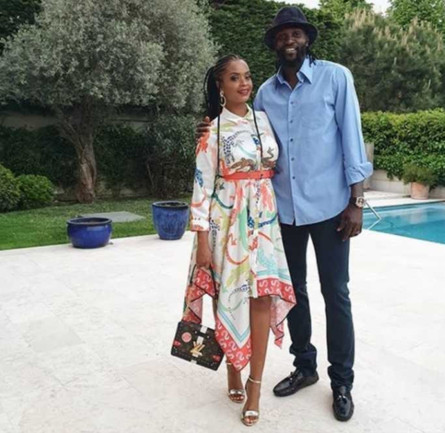 Emmanuel Adebayor accuses ex-girlfriend Dillish Mathews of being a liar and cheat, narrates how she allegedly cheated on him
