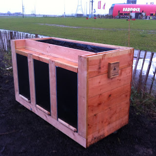 de CommunityComposter is een wormenhotel.
