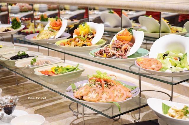 Appetizers spread
