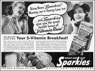 Sparkies - Your 5-vitamin Breakfast!