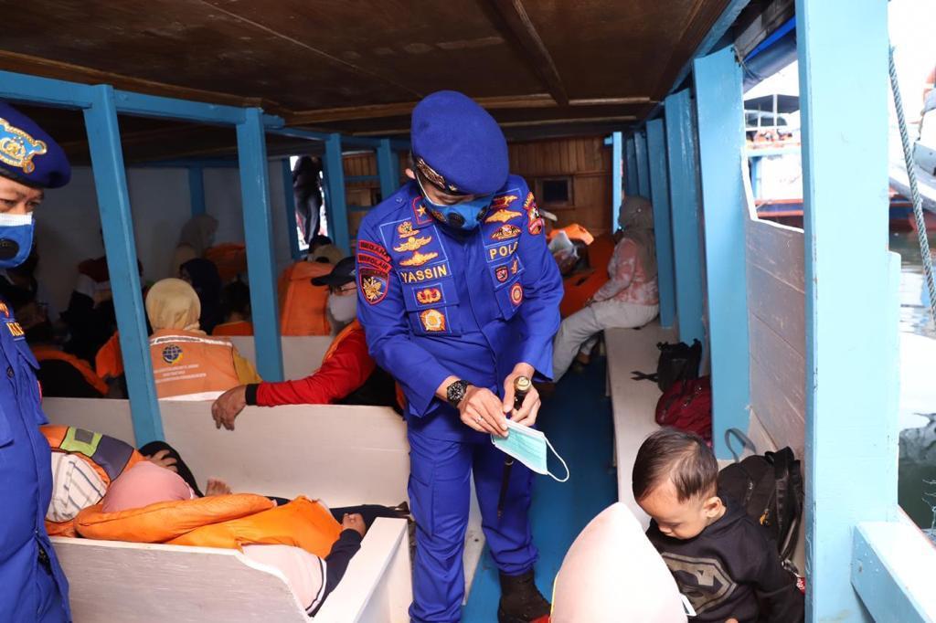 Jelang Tahun Baru, Baharkam Polri Cek Pengamanan Pelabuhan Penyebrangan
