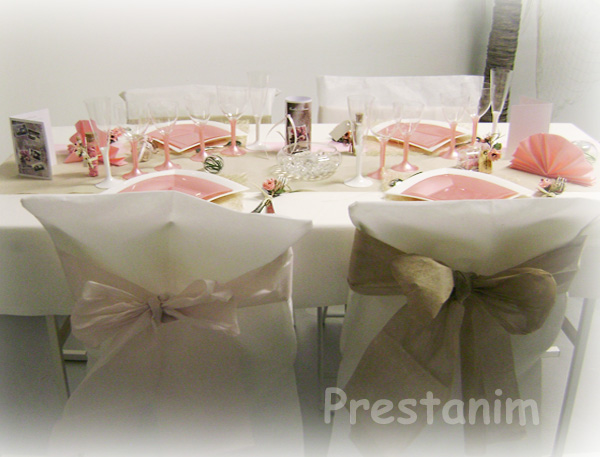 ma d coration de mariage mariage d coration champ tre r tro romantique. Black Bedroom Furniture Sets. Home Design Ideas