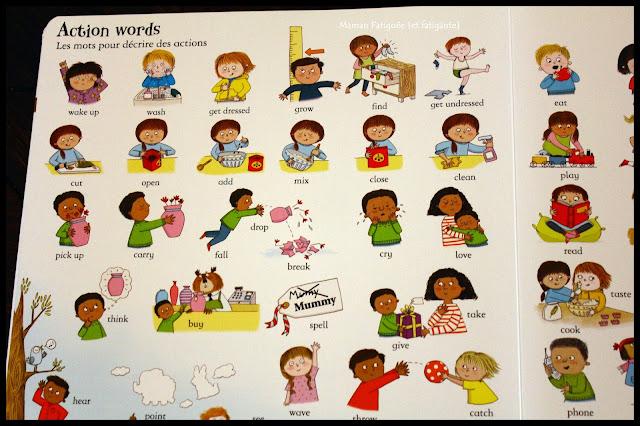 Livre mots illustrés anglais usborne