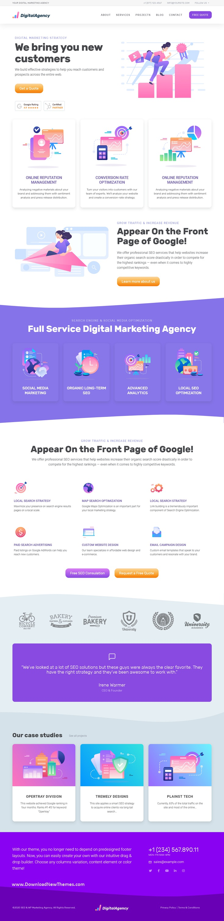 SEO & Digital Marketing HTML5 Template