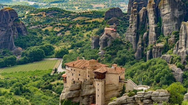 UNESCO Heritage site tours Greece Meteora