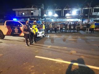 TNI-Polri Gelar Patroli Bersama Terkait Penerapan PPKM di Toraja Utara