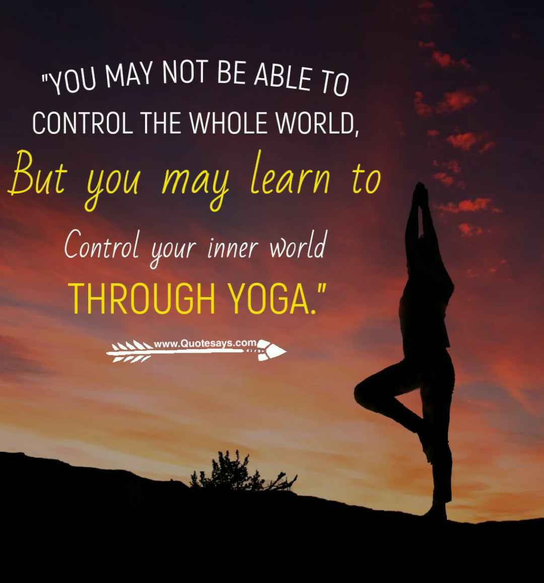 Yoga quotes. Inspirational yoga quotes.