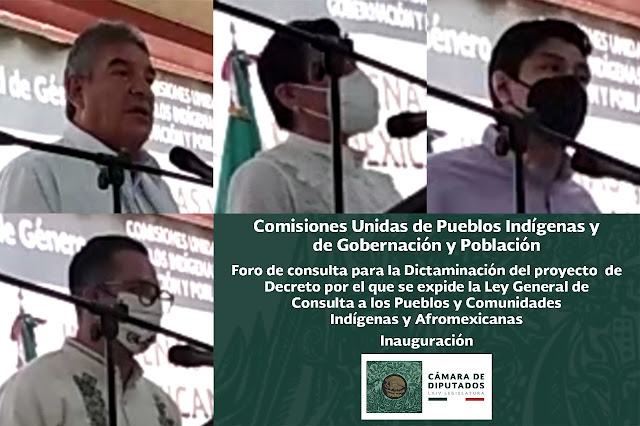 Continúan foros para dictaminar la Ley de Consulta a Comunidades Indígenas y Afromexicanas