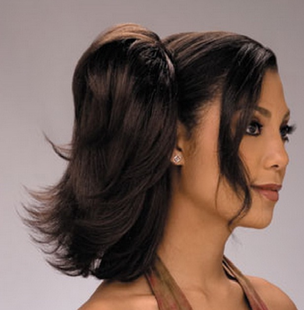 Super Ponytail Hairstyles For Black Women Short Haircuts 2013 Hairstyles For Women Draintrainus