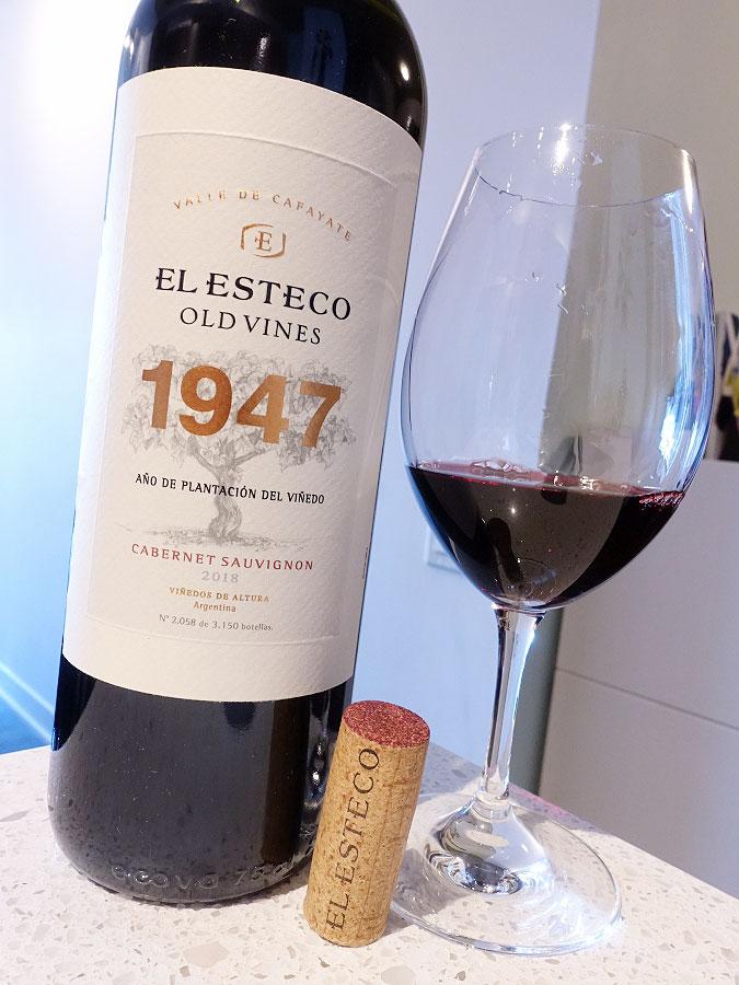 El Esteco 1947 Old Vines Cabernet Sauvignon 2018 (90+ pts)