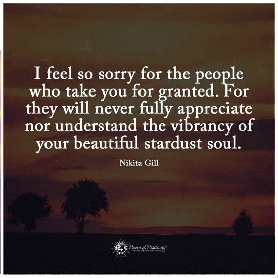 Taken for granted quote