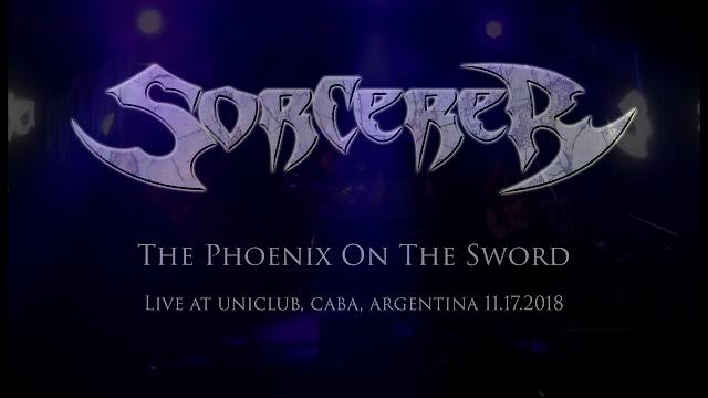 "Sorcerer - ""The Phoenix On The Sword"""